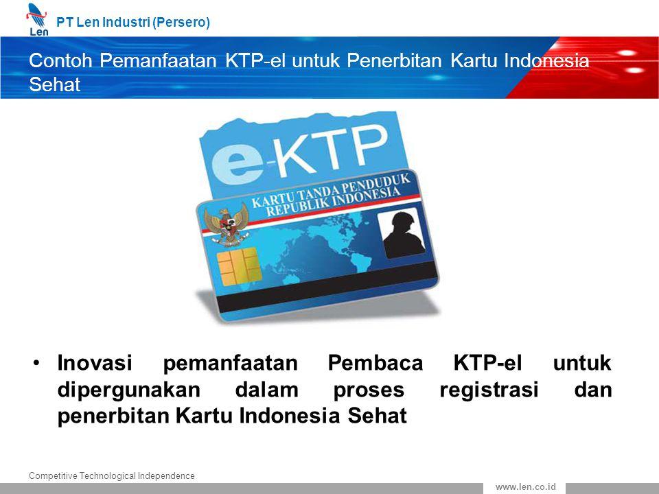 Contoh Pemanfaatan KTP-el untuk Penerbitan Kartu Indonesia Sehat