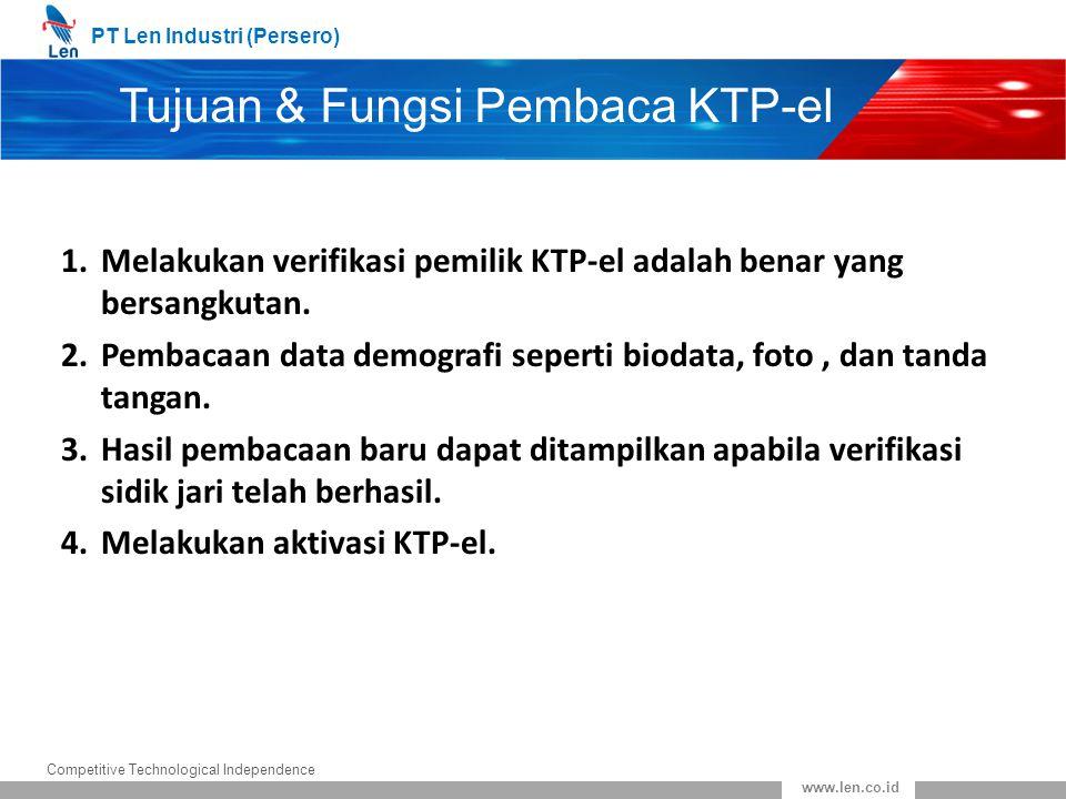 Tujuan & Fungsi Pembaca KTP-el