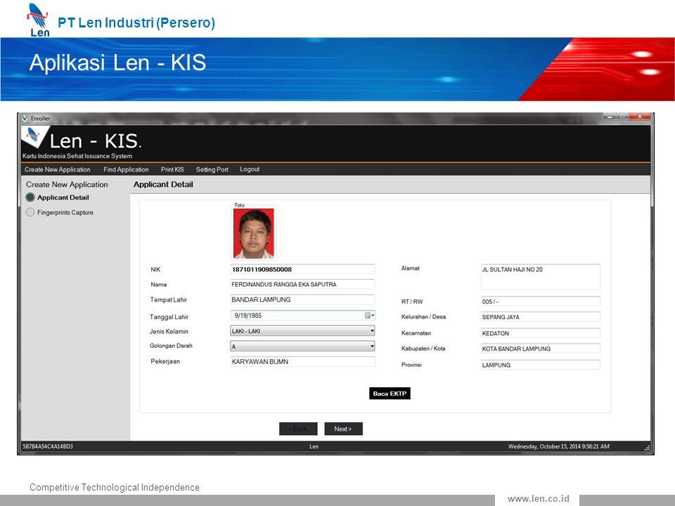 Aplikasi Len - KIS
