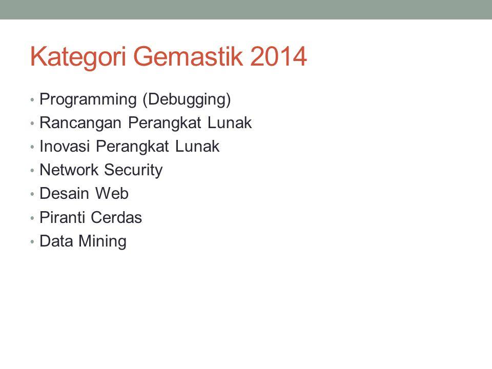 Kategori Gemastik 2014 Programming (Debugging)