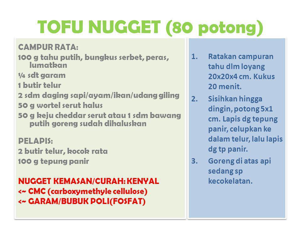 TOFU NUGGET (80 potong)