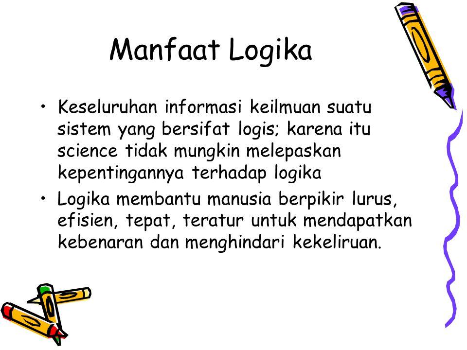 Manfaat Logika