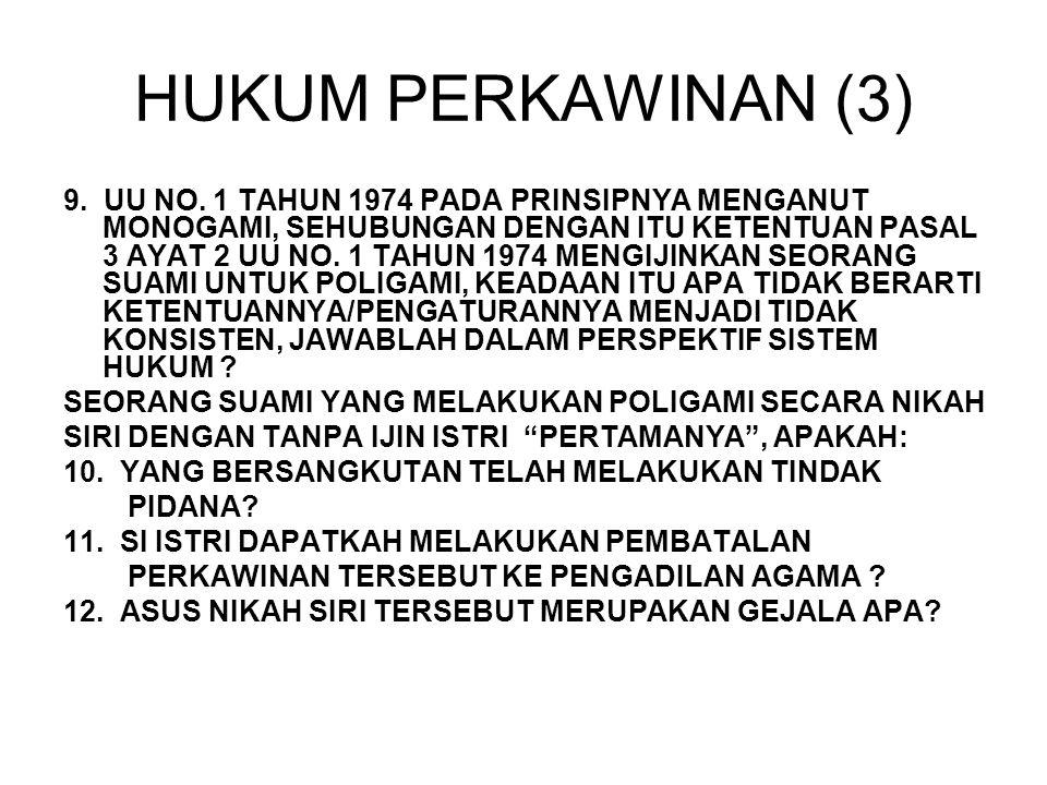 HUKUM PERKAWINAN (3)