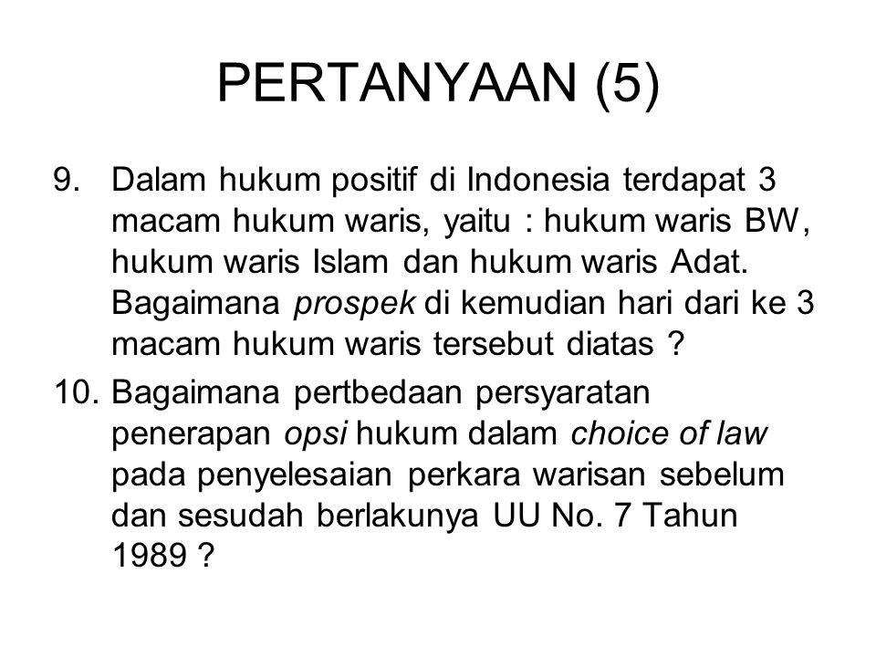PERTANYAAN (5)