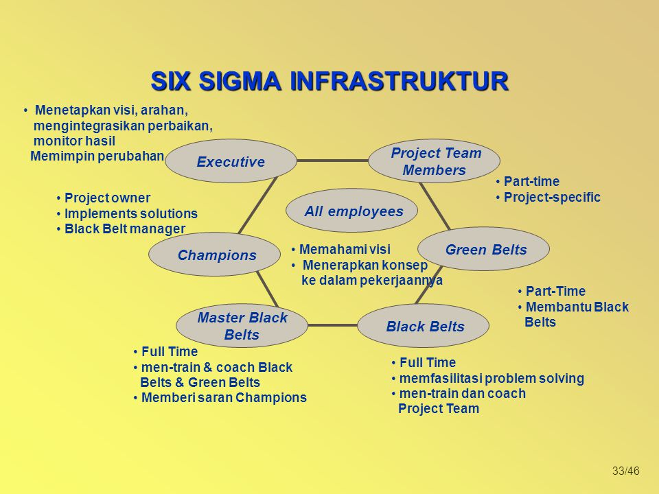 SIX SIGMA INFRASTRUKTUR