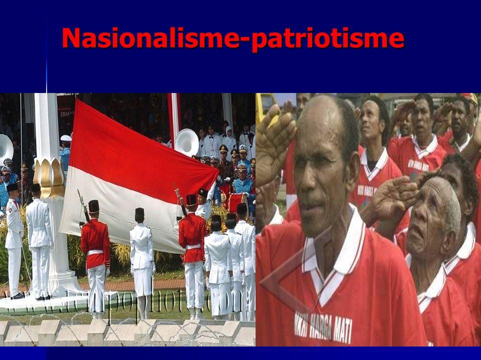 Nasionalisme-patriotisme