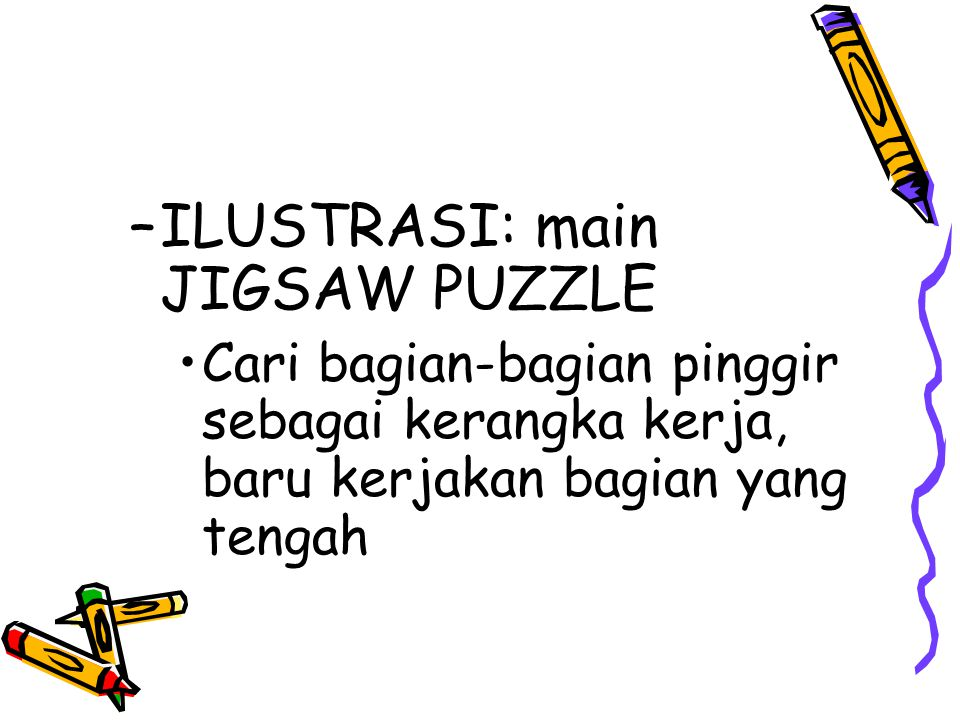 ILUSTRASI: main JIGSAW PUZZLE