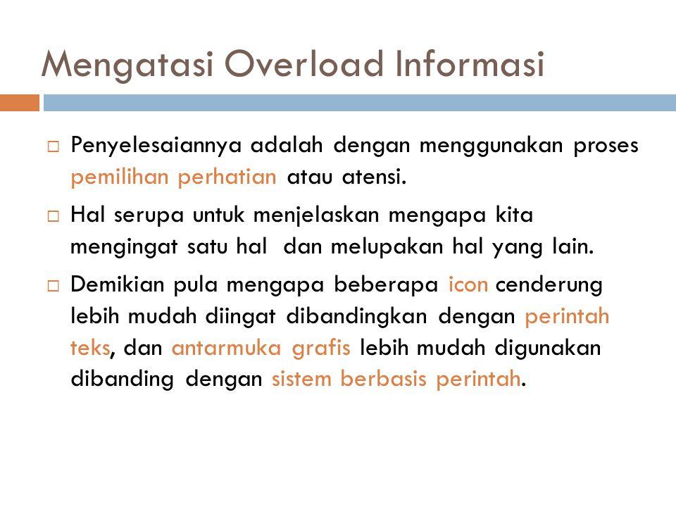 Mengatasi Overload Informasi
