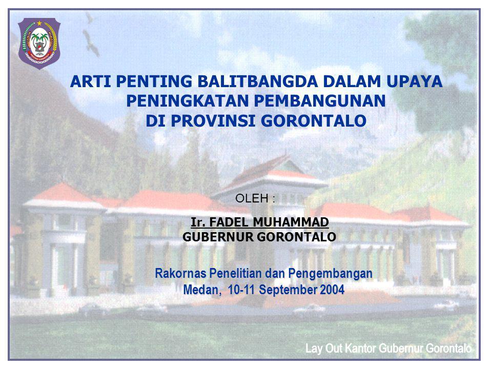 Lay Out Kantor Gubernur Gorontalo