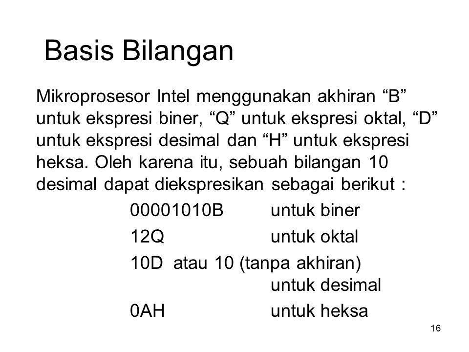 Basis Bilangan