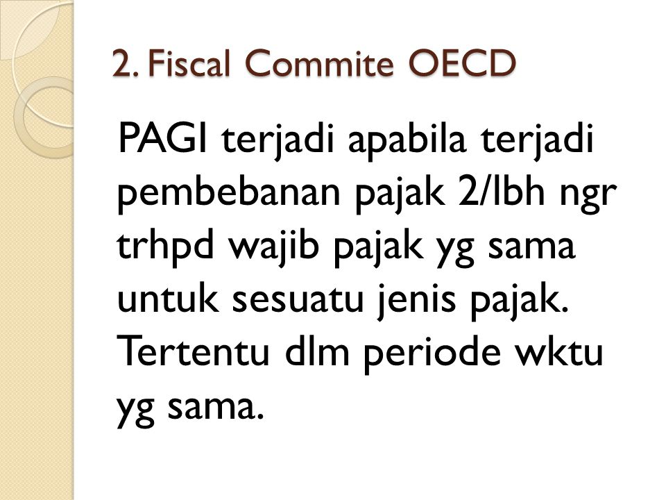 2. Fiscal Commite OECD