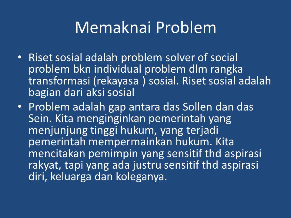 Memaknai Problem