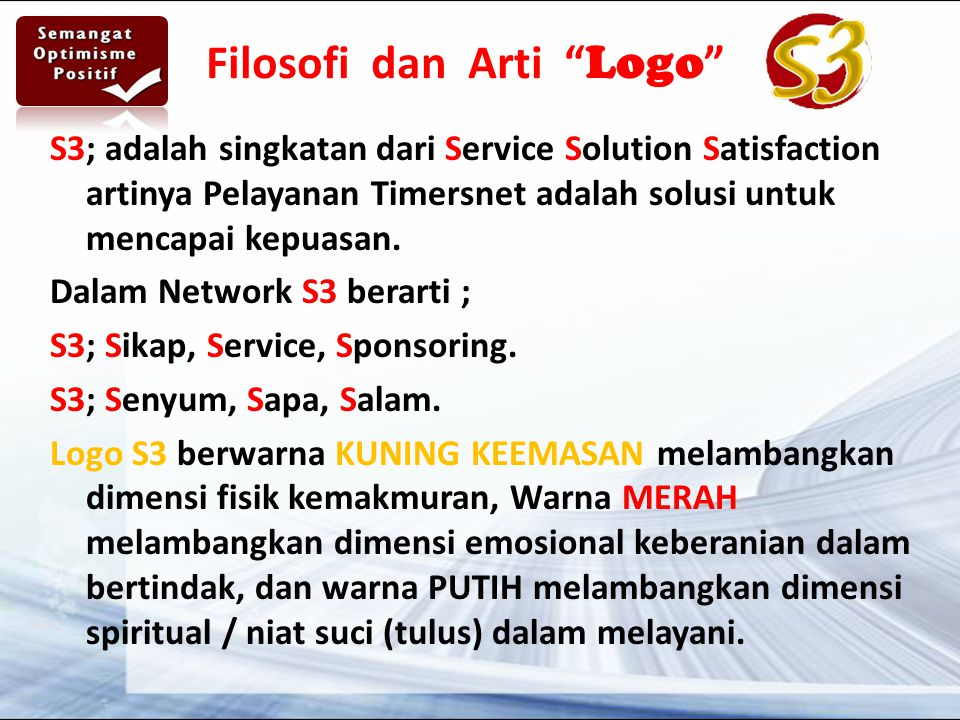 Filosofi dan Arti Logo