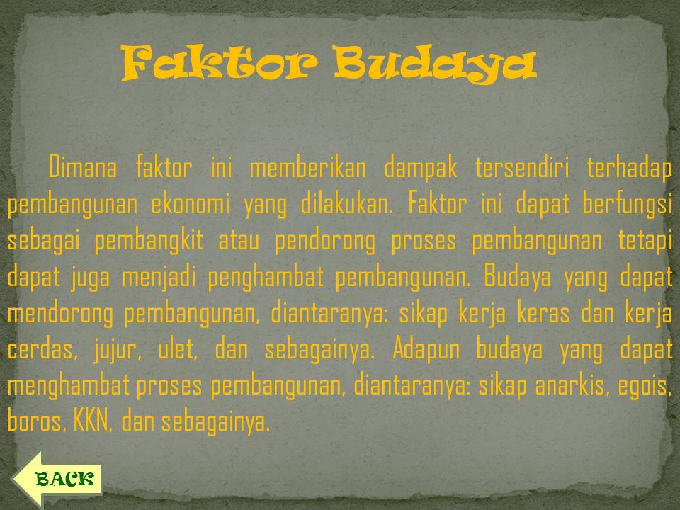 Faktor Budaya