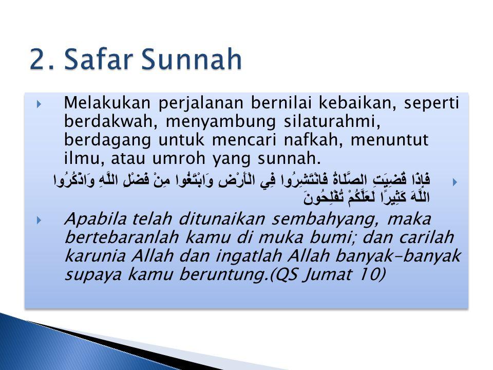 2. Safar Sunnah