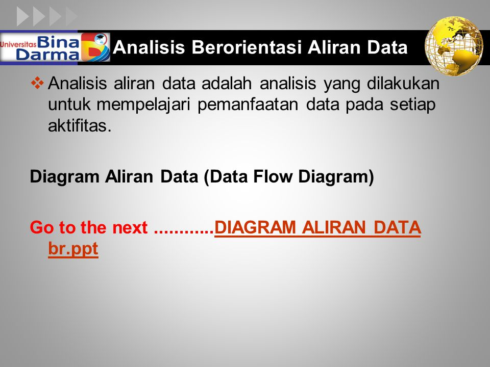 Analisis Berorientasi Aliran Data
