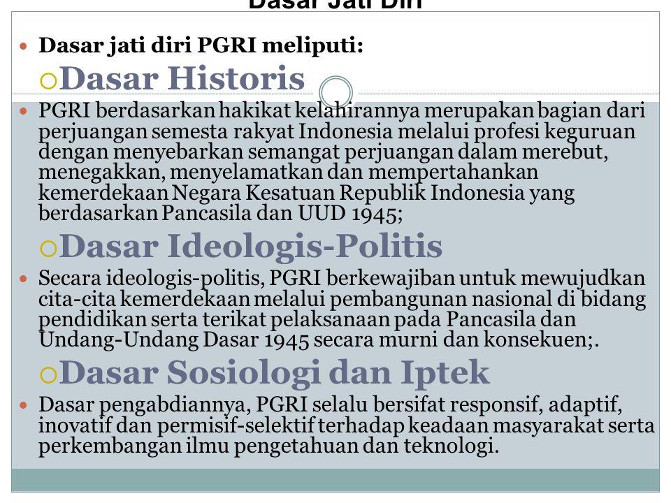 Dasar Ideologis‑Politis