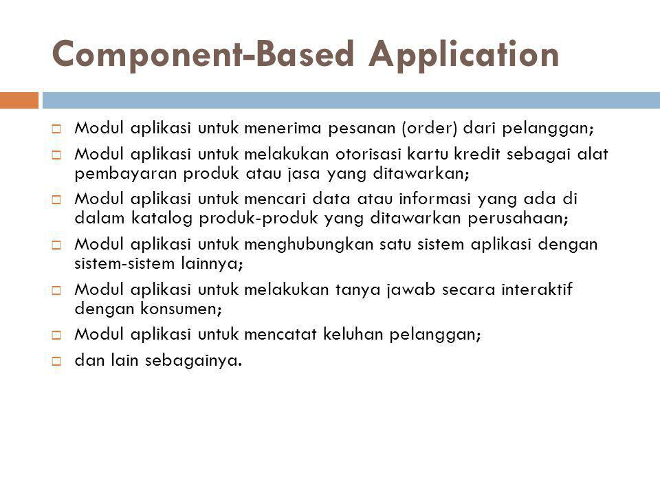 Component-Based Application