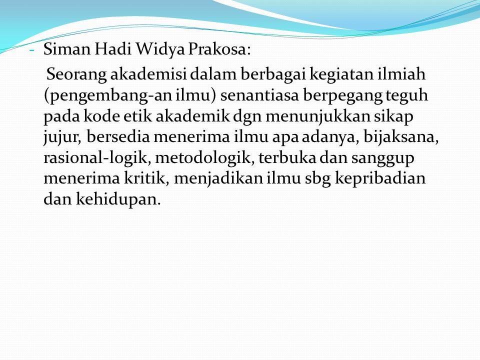 Siman Hadi Widya Prakosa: