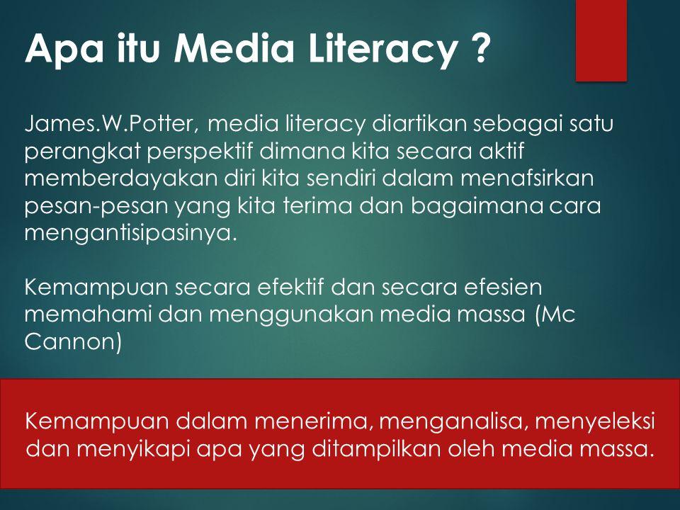 Apa itu Media Literacy