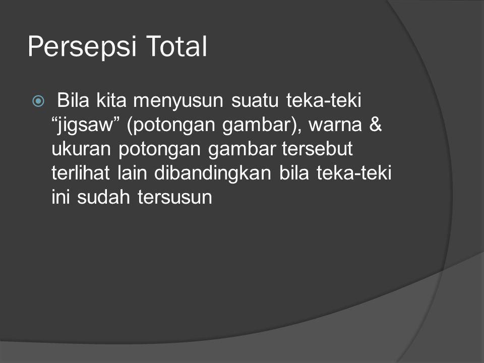 Persepsi Total