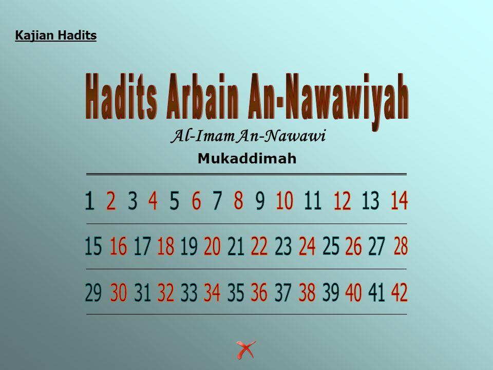 Hadits Arbain An-Nawawiyah