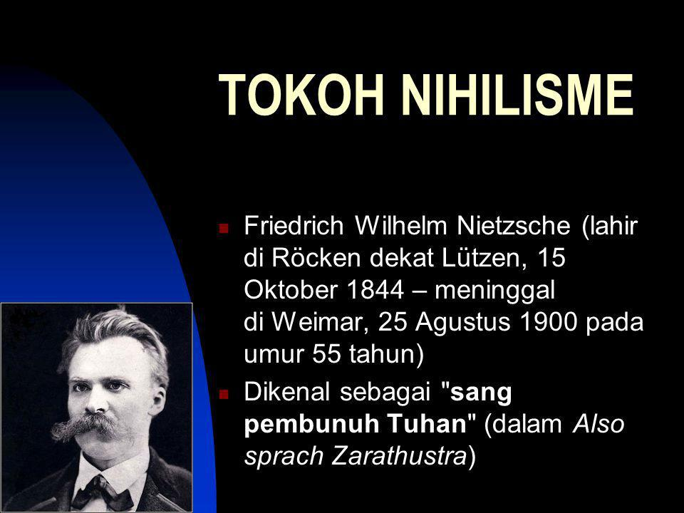 TOKOH NIHILISME