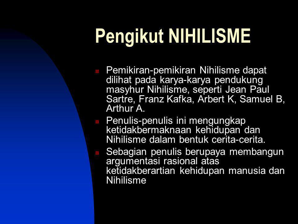 Pengikut NIHILISME