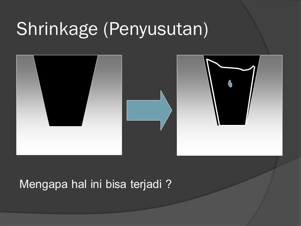 Shrinkage (Penyusutan)