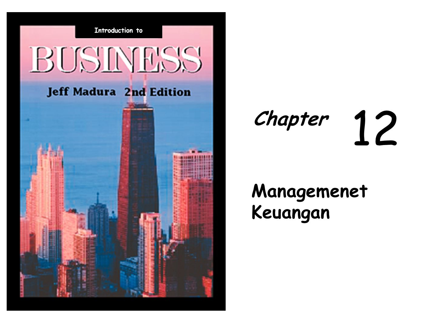 Introduction to 12 Chapter Managemenet Keuangan