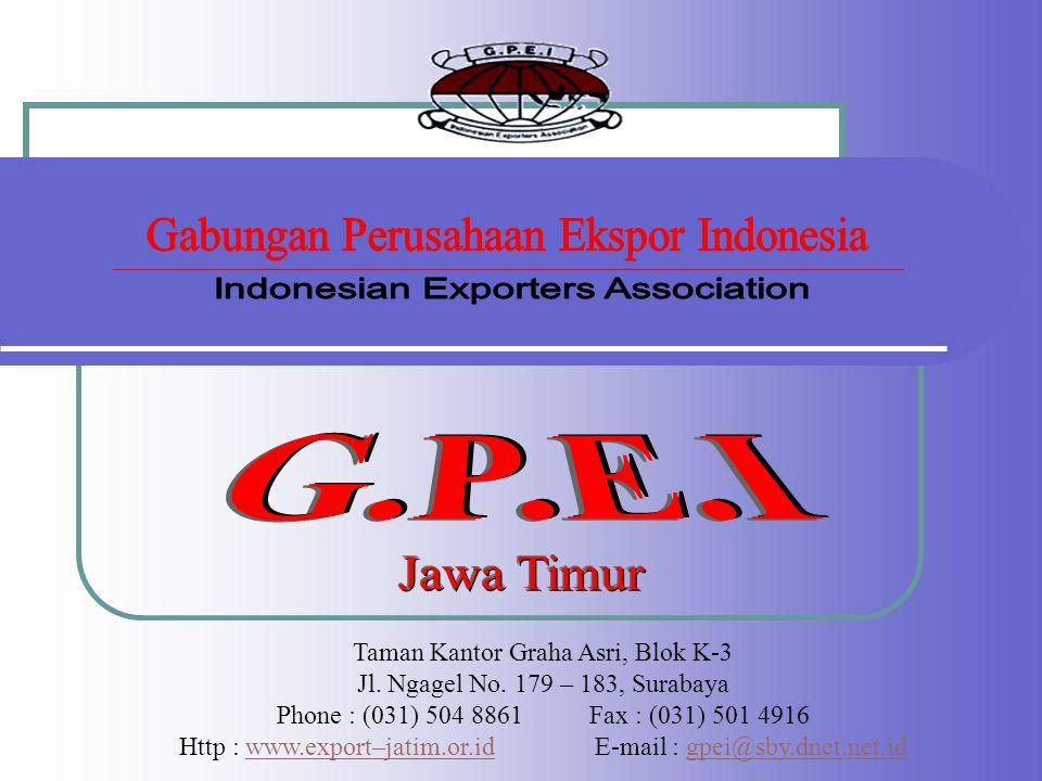 Gabungan Perusahaan Ekspor Indonesia Indonesian Exporters Association
