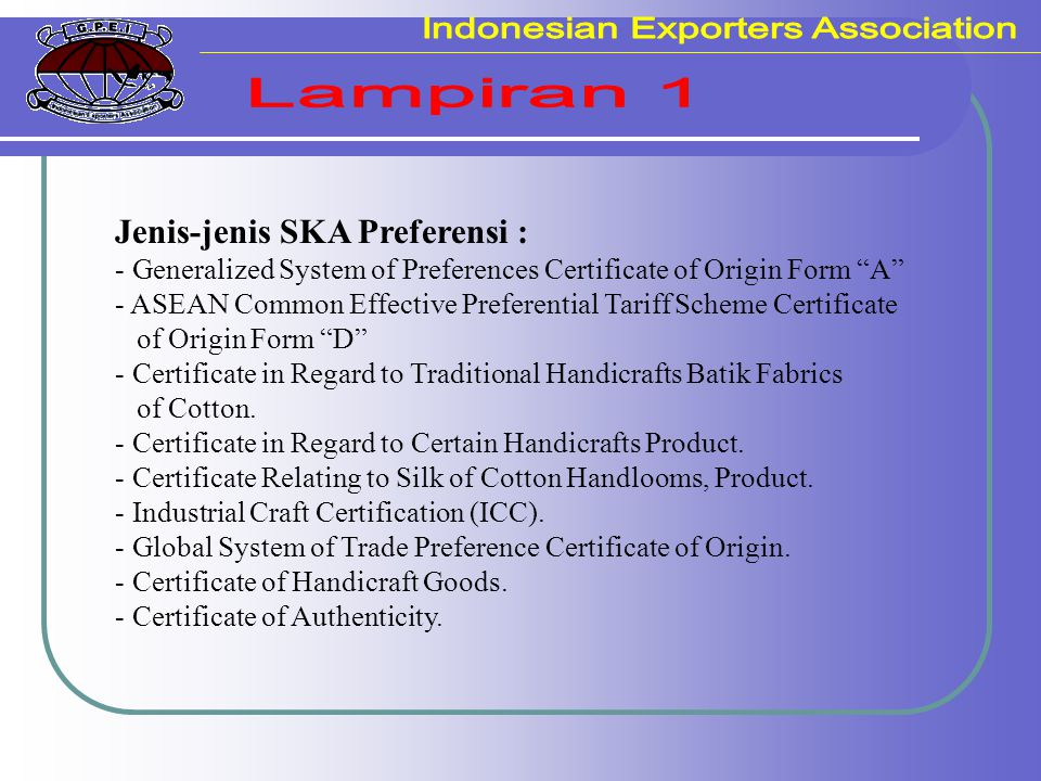 Indonesian Exporters Association