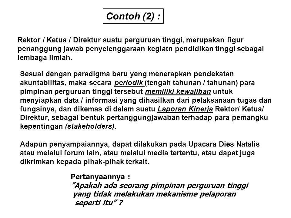 Contoh (2) :