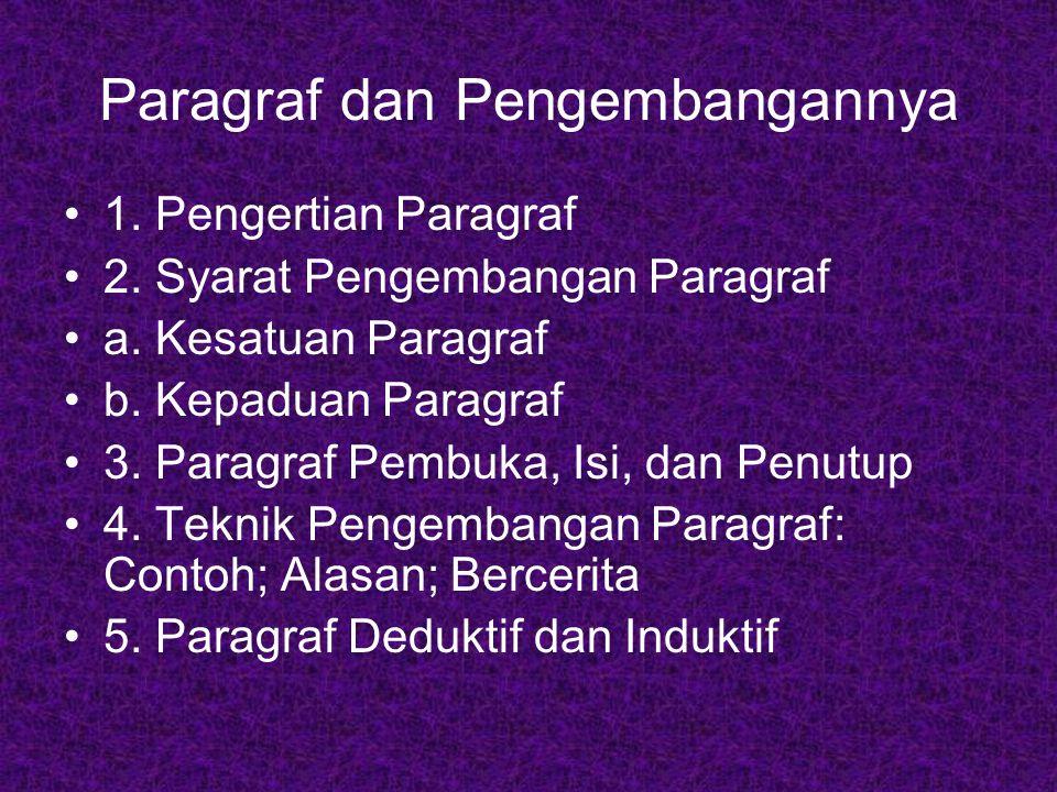 pengertian paragraf essay Contoh paragraf essay – paragraf pojok  by kang bull pelajari pengertian paragraf deskripsi lengkap dengan tujuan ciri jenis dan contohnya.