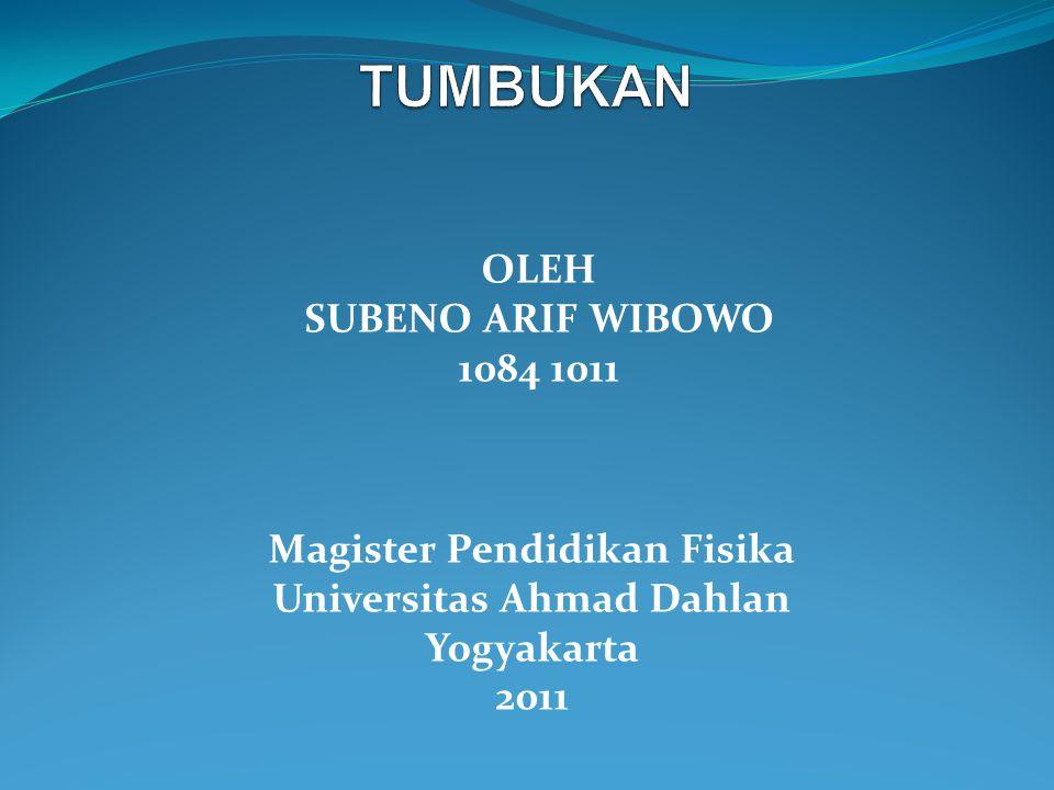 Magister Pendidikan Fisika Universitas Ahmad Dahlan