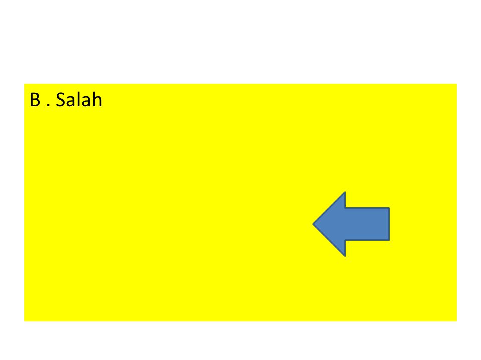 B . Salah
