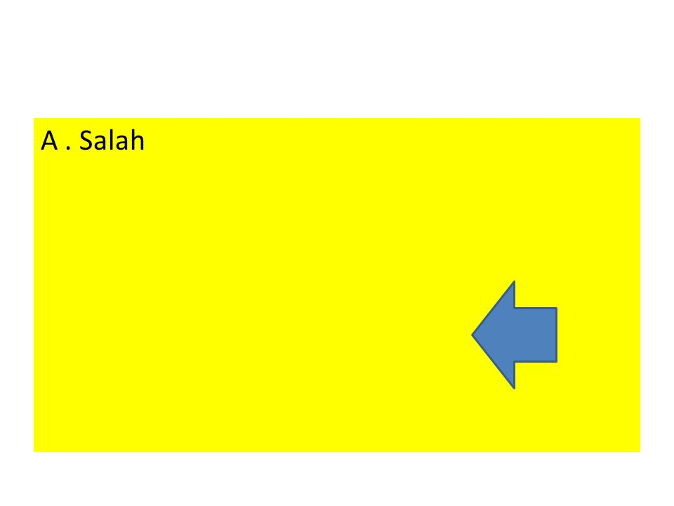 A . Salah