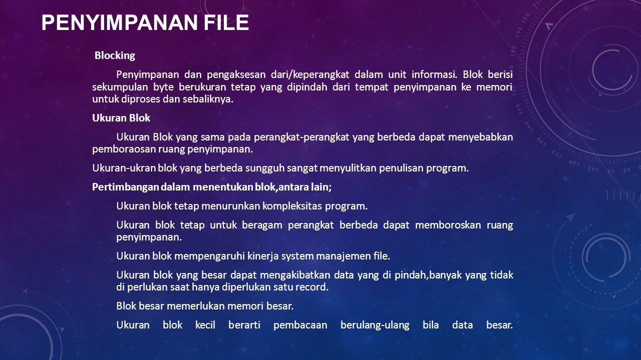 Penyimpanan File