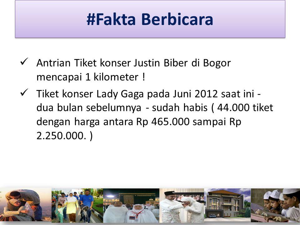 #Fakta Berbicara Antrian Tiket konser Justin Biber di Bogor mencapai 1 kilometer !