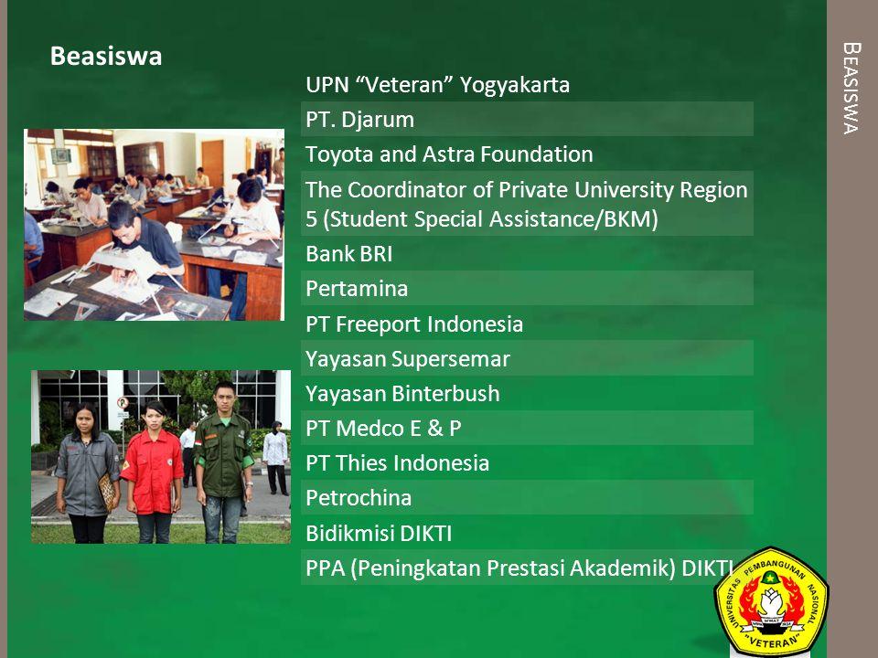 Beasiswa Beasiswa UPN Veteran Yogyakarta PT. Djarum