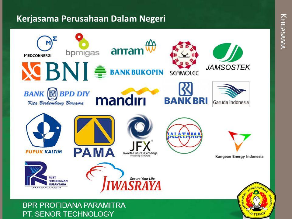 Kerjasama Perusahaan Dalam Negeri