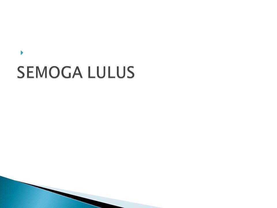 SEMOGA LULUS