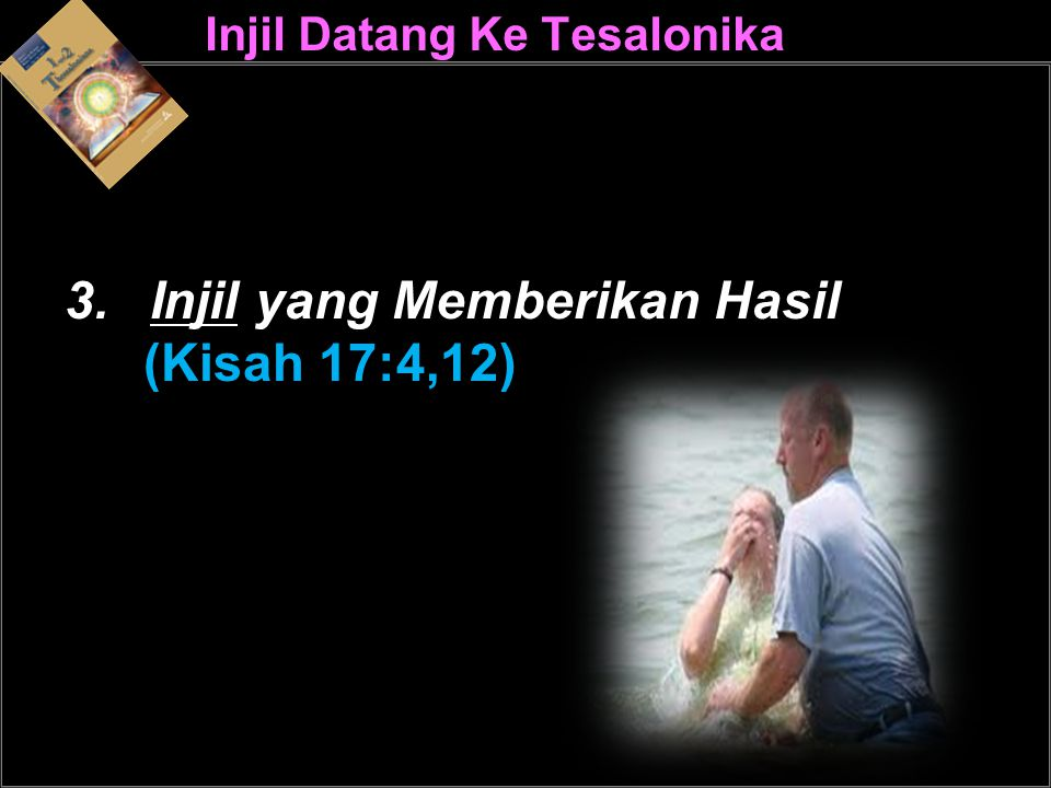 Injil Datang Ke Tesalonika