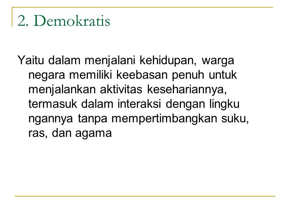 2. Demokratis