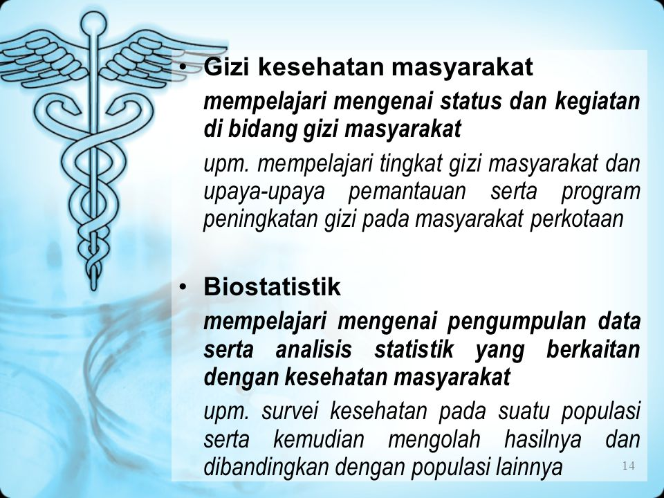 Gizi kesehatan masyarakat