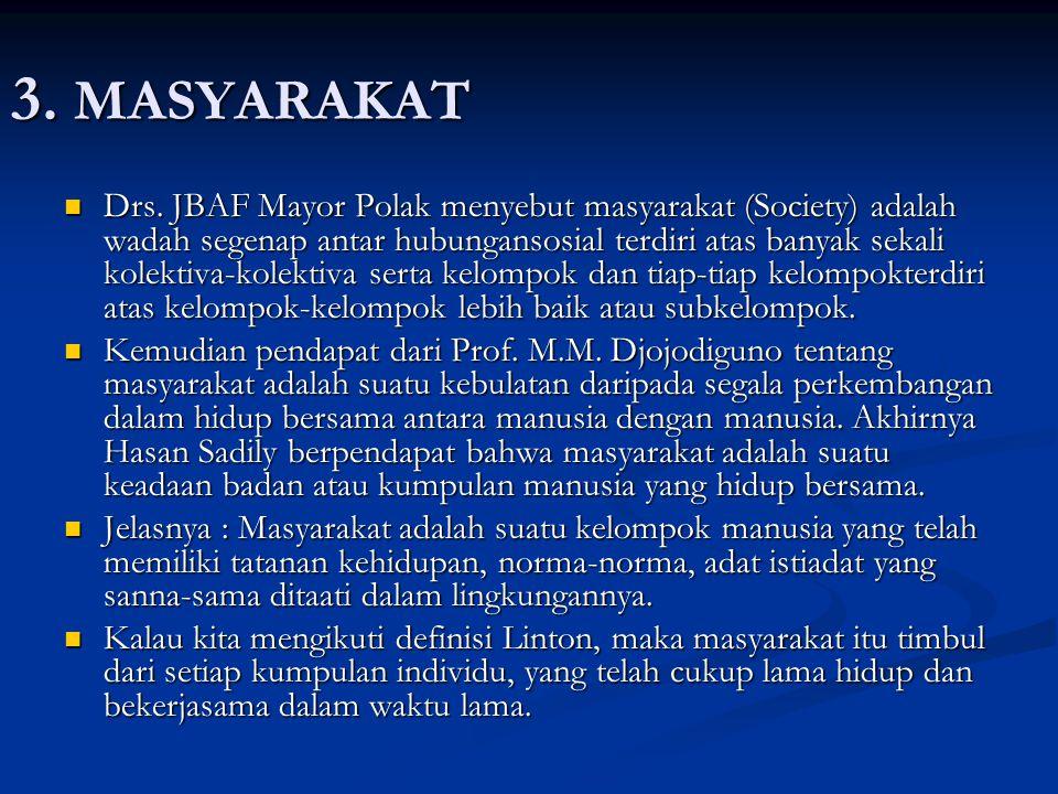 3. MASYARAKAT
