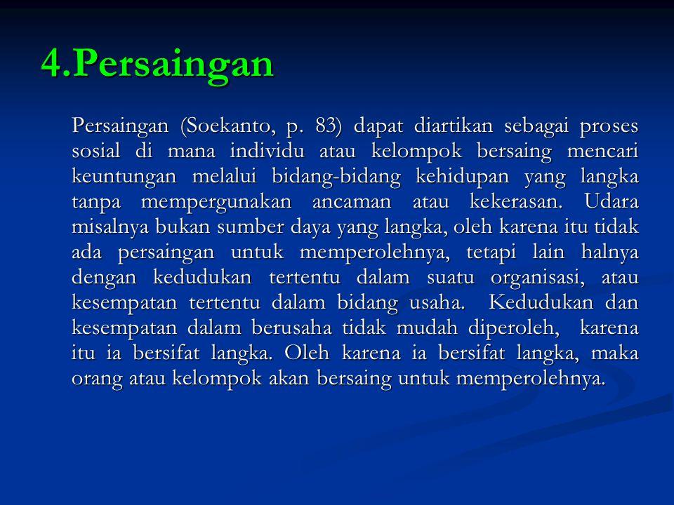 4.Persaingan
