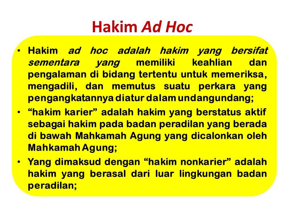 Hakim Ad Hoc