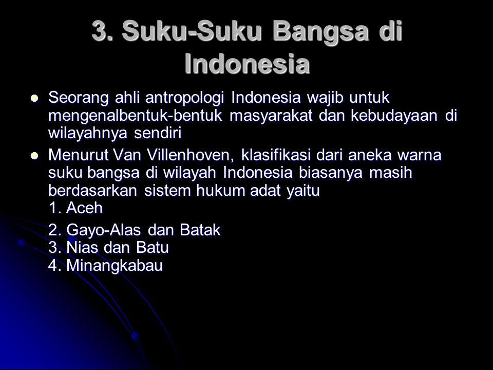 3. Suku-Suku Bangsa di Indonesia
