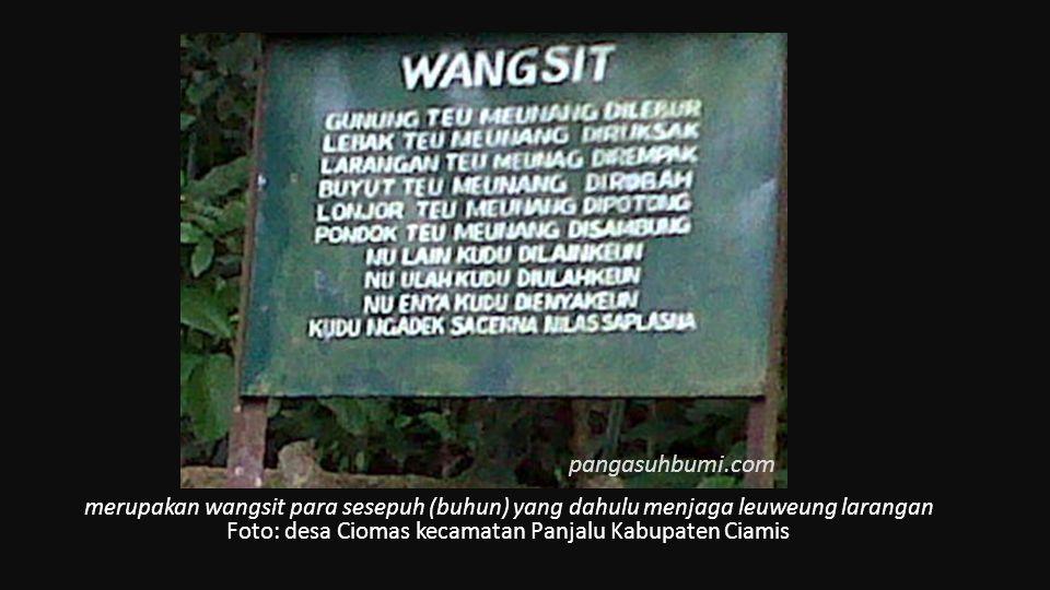 Foto: desa Ciomas kecamatan Panjalu Kabupaten Ciamis